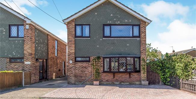 Asking Price £335,000, 4 Bedroom Detached House For Sale in Minster on Sea, ME12