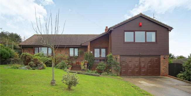 Guide Price £500,000, 5 Bedroom Detached Bungalow For Sale in Minster on Sea, ME12