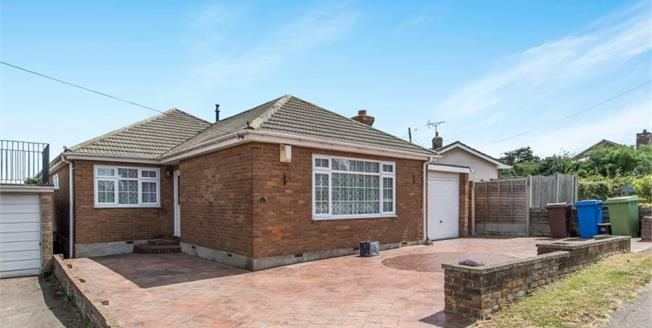 Offers in excess of £385,000, 4 Bedroom Detached Bungalow For Sale in Minster on Sea, ME12