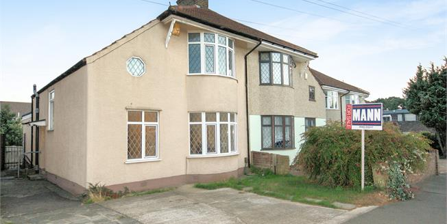 Offers in excess of £350,000, 3 Bedroom Semi Detached House For Sale in Welling, DA16