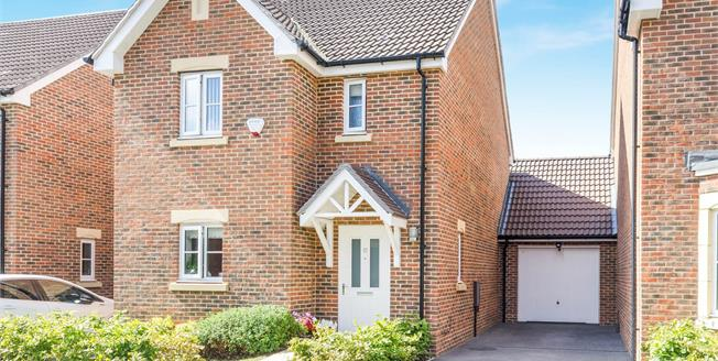 Guide Price £375,000, 3 Bedroom Link Detached House For Sale in Sarisbury Green, SO31