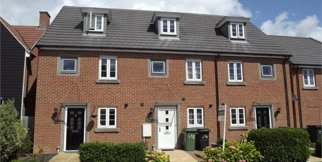 Guide Price £300,000, 3 Bedroom Town House For Sale in Basingstoke, RG24