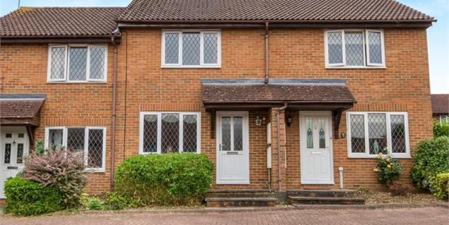 Guide Price £240,000, 2 Bedroom Terraced House For Sale in Basingstoke, RG22