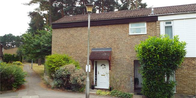 Offers in excess of £320,000, 3 Bedroom End of Terrace House For Sale in Bracknell, RG12