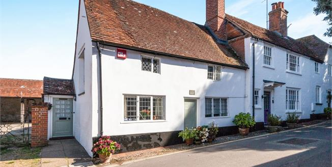 Guide Price £395,000, 2 Bedroom Semi Detached Cottage For Sale in Odiham, RG29