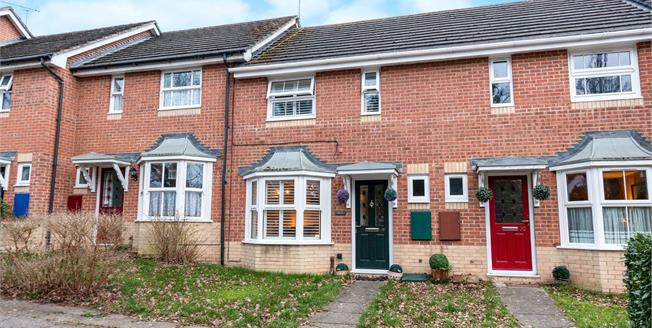 Guide Price £285,000, 2 Bedroom Terraced House For Sale in Hook, RG27
