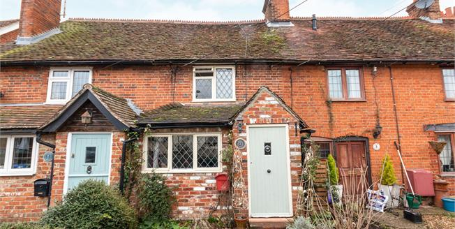 Guide Price £350,000, 3 Bedroom Terraced Cottage For Sale in North Warnborough, RG29