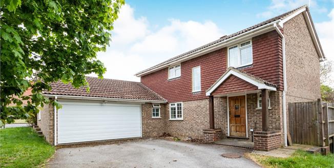 Asking Price £525,000, 4 Bedroom Detached House For Sale in Hook, RG27