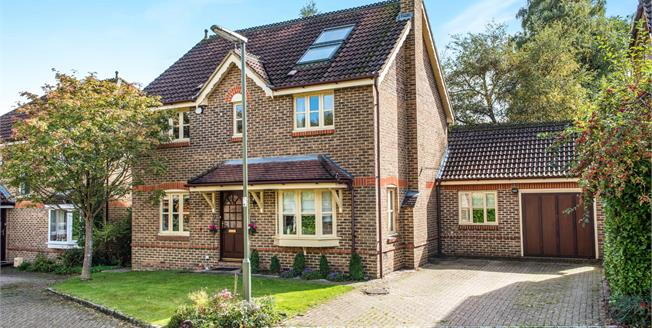 Offers in the region of £675,000, 5 Bedroom Detached House For Sale in Lightwater, GU18