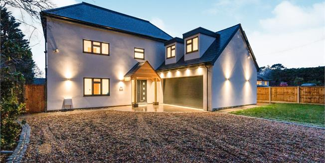 Asking Price £1,150,000, 4 Bedroom Detached House For Sale in Lightwater, GU18