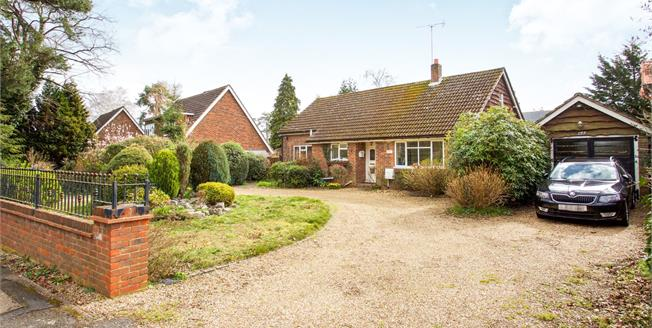 Asking Price £650,000, 3 Bedroom Detached Bungalow For Sale in Lightwater, GU18