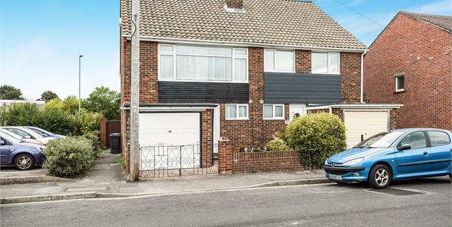 Asking Price £230,000, 3 Bedroom Semi Detached House For Sale in Gosport, PO12