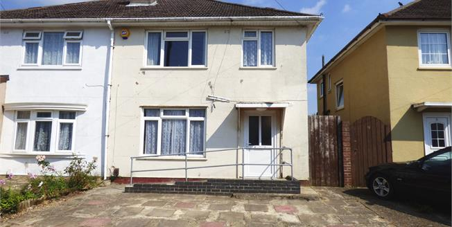 Asking Price £170,000, 3 Bedroom Semi Detached House For Sale in Gosport, PO13