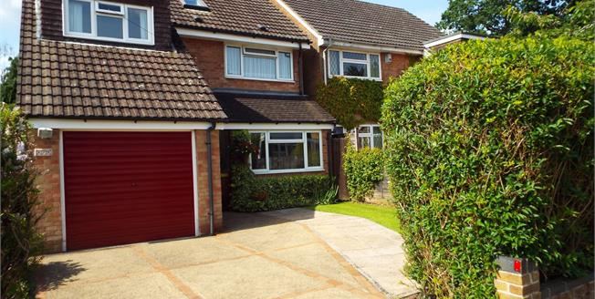 Asking Price £380,000, 4 Bedroom Detached House For Sale in Waterlooville, PO8