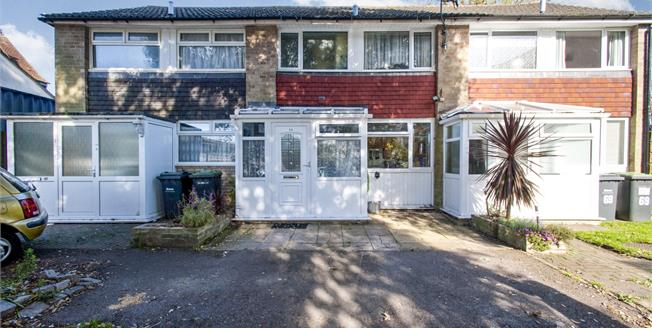Offers Over £205,000, 2 Bedroom Terraced House For Sale in Waterlooville, PO7
