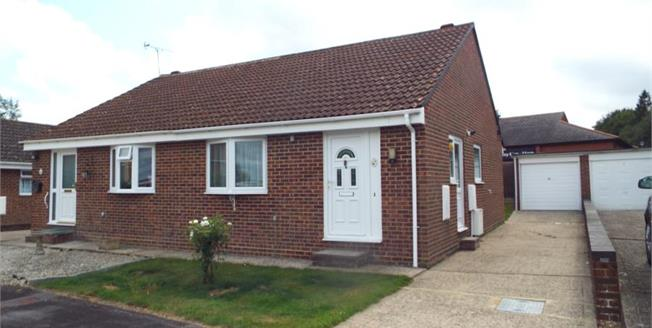 £240,000, 2 Bedroom Semi Detached Bungalow For Sale in Waterlooville, PO7