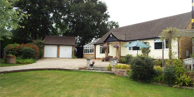 Guide Price £650,000, 4 Bedroom Detached Bungalow For Sale in Baughurst, RG26