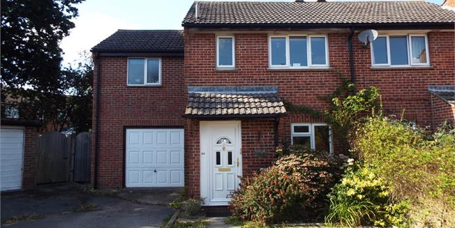 Guide Price £300,000, 4 Bedroom End of Terrace House For Sale in Tadley, RG26