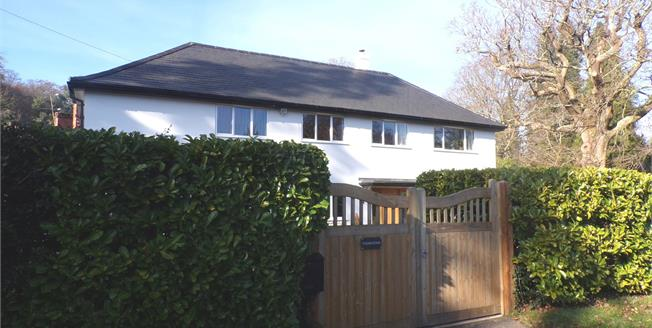 Guide Price £825,000, 4 Bedroom Detached House For Sale in Lyndhurst, SO43