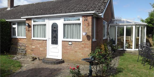 Guide Price £265,000, 2 Bedroom End of Terrace Bungalow For Sale in Ringwood, BH24
