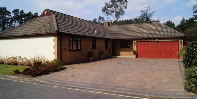 Guide Price £550,000, 4 Bedroom Detached Bungalow For Sale in Ashley Heath, BH24