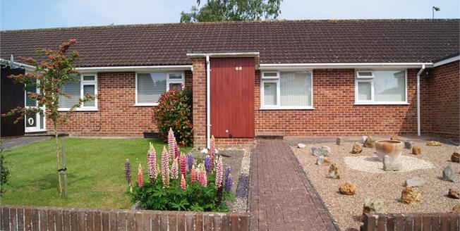 Guide Price £230,000, 2 Bedroom Terraced Bungalow For Sale in Ringwood, BH24