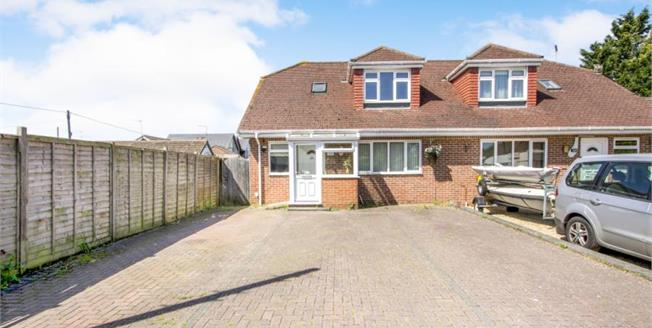 Offers in excess of £350,000, 3 Bedroom Semi Detached Bungalow For Sale in Ringwood, BH24
