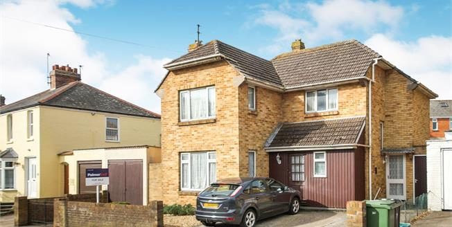 Asking Price £250,000, 3 Bedroom Detached House For Sale in Weymouth, DT4