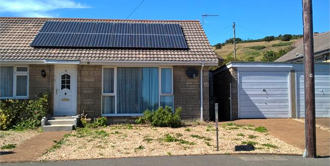 Asking Price £180,000, 2 Bedroom Semi Detached Bungalow For Sale in Ventnor, PO38