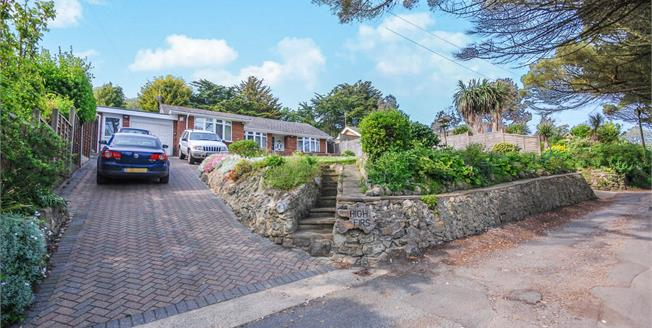 Guide Price £400,000, 3 Bedroom Detached Bungalow For Sale in Ventnor, PO38