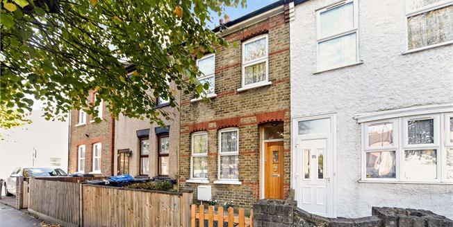 Guide Price £340,000, 2 Bedroom Terraced House For Sale in Croydon, CR0