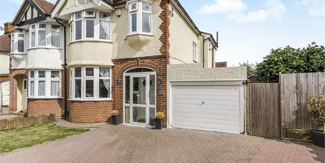 Asking Price £500,000, 3 Bedroom Semi Detached House For Sale in Chessington, KT9