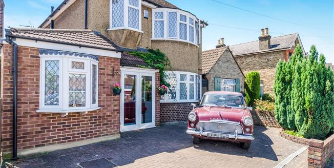 Asking Price £525,000, 4 Bedroom Detached House For Sale in Chessington, KT9