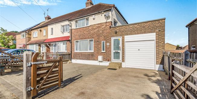 Guide Price £425,000, 2 Bedroom End of Terrace House For Sale in Chessington, KT9