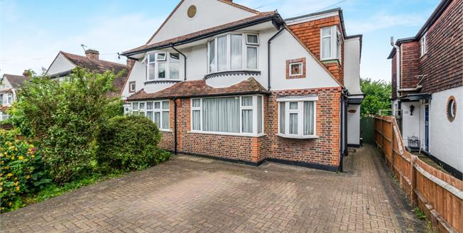 Offers in the region of £575,000, 4 Bedroom Semi Detached House For Sale in Epsom, KT17