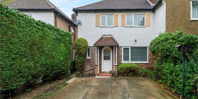 Offers in the region of £450,000, 3 Bedroom Semi Detached House For Sale in Chessington, KT9