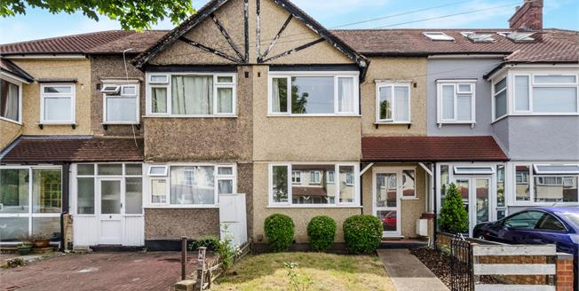 Guide Price £480,000, 3 Bedroom Terraced House For Sale in New Malden, KT3