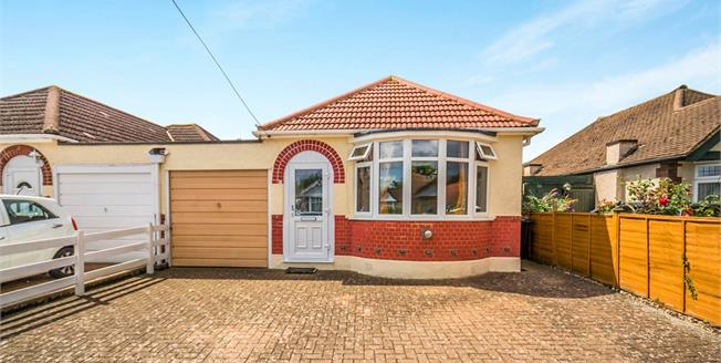 Guide Price £410,000, 2 Bedroom Link Detached House Bungalow For Sale in Epsom, KT19