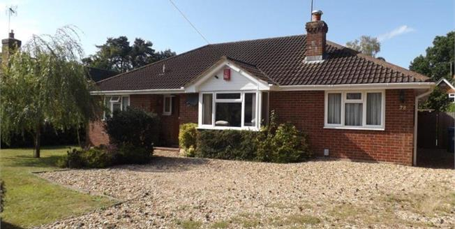 Asking Price £520,000, 3 Bedroom Bungalow For Sale in Church Crookham, GU52