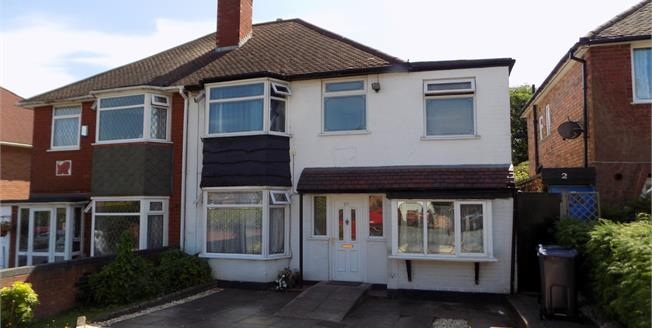 Offers Over £300,000, 4 Bedroom Semi Detached House For Sale in West Midlands, B73