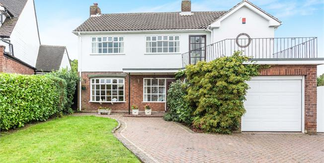 Offers Over £500,000, 4 Bedroom Detached House For Sale in Sutton Coldfield, B74