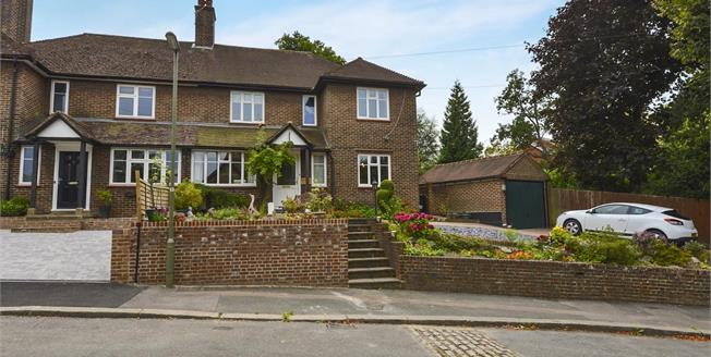Asking Price £850,000, 4 Bedroom Semi Detached House For Sale in Reigate, RH2