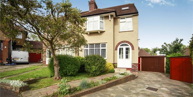 Offers in excess of £525,000, 4 Bedroom Semi Detached House For Sale in Sutton, SM1