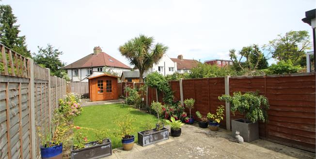 Guide Price £425,000, 2 Bedroom End of Terrace House For Sale in Sutton, SM1