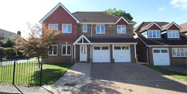 Guide Price £750,000, 5 Bedroom Detached House For Sale in Carshalton, SM5