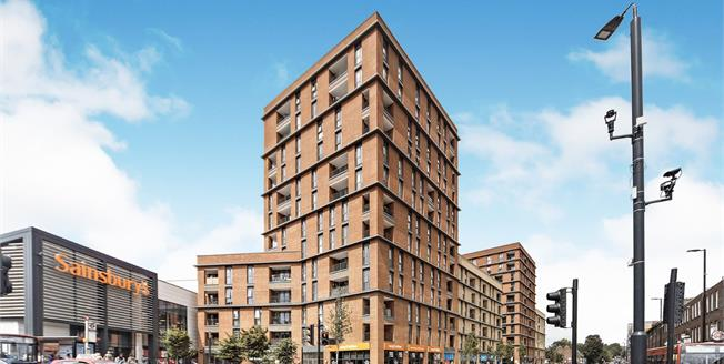 Guide Price £250,000, 1 Bedroom Flat For Sale in Sutton, SM1