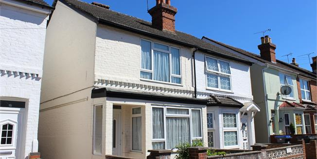 Guide Price £355,000, 3 Bedroom Semi Detached House For Sale in Woking, GU22