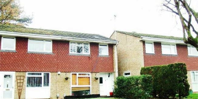 Guide Price £350,000, 3 Bedroom Semi Detached House For Sale in Woking, GU21