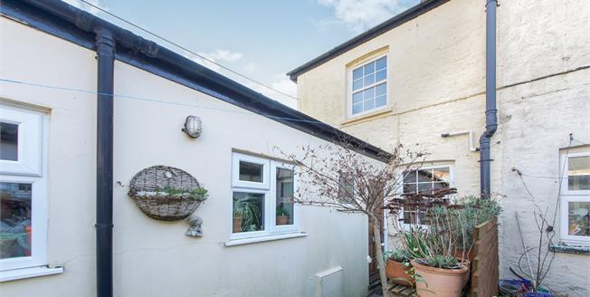 Guide Price £200,000, 1 Bedroom End of Terrace Cottage For Sale in Bridport, DT6