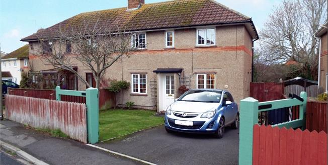 Guide Price £225,000, 3 Bedroom Semi Detached House For Sale in Bridport, DT6